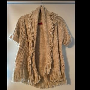 Hollister knit cardigan sweater